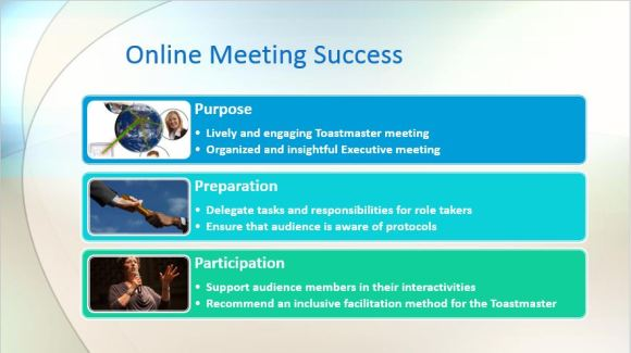 online meeting success