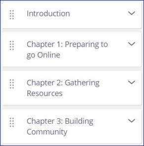 course outline a