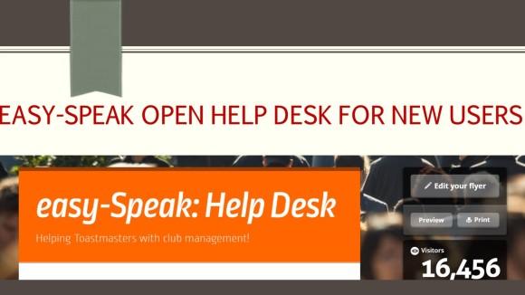 Easy-speak Open Help Desk