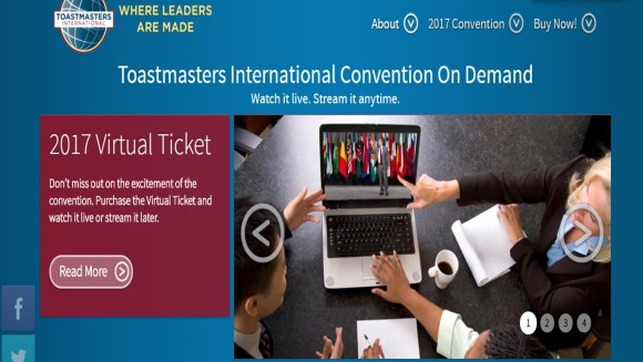 virtual ticket toastmasters on demand