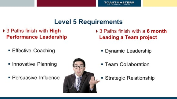 level 5 requirements A
