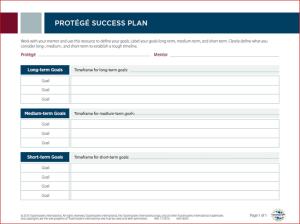 protege success plan