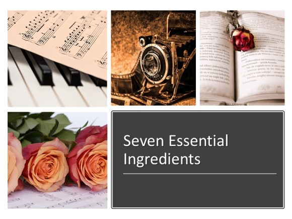 seven essential ingredients for episode 2